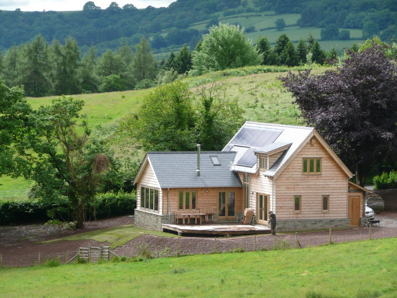 Off-grid holiday accommodation on the Welsh Borders near