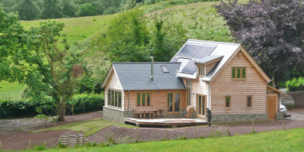 Presteigne, Welsh Marches, off grid cottage, sleeps 6